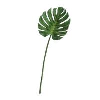 Лист Монстеры искусственный насыщенно-зеленый 103 см MDP