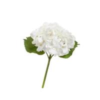 Гортензия Крупно-цветковая искусственная белая 38 см MDP