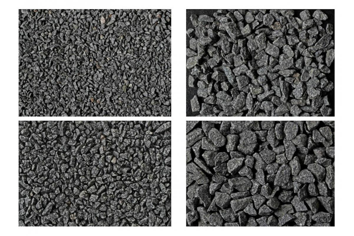 Кремень Габбро-Диабаз черный 15-20 мм - Фото 2