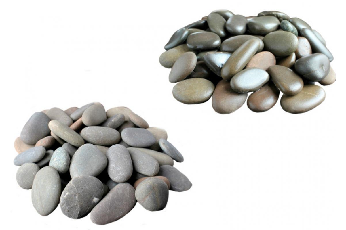 Галька речная серая 20-100 мм