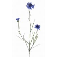 Василек искусственный темно-голубой 70 см
