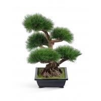 Бонсай искусственный Сосна в кашпо 60 см