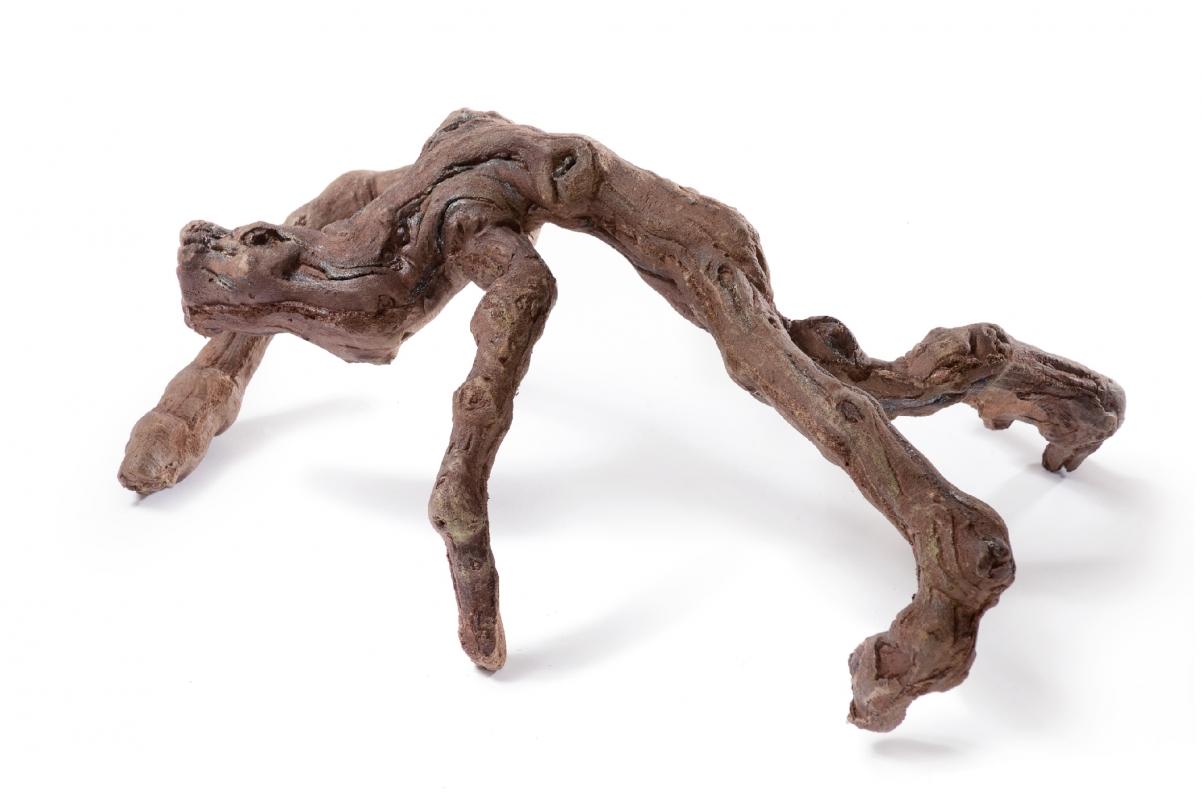 Коряга темно-коричневая искусственная 48x30 см