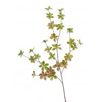 Ветвь Барбариса большая искусственная зелено-розовая 102 см