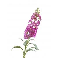 Маттиола (Левкой) искусственная светло-фиолетовая 81 см