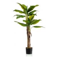 Пальма Банановая 2-х ствольная искусственная 140 см