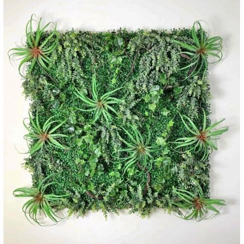 Фитостена из искусственных растений «Тропический Звездопад» 1м2