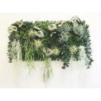 Фитостена из искусственных растений «Блюз» 110 x 110 см