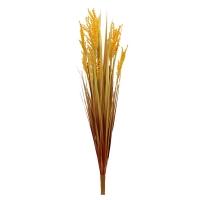 Трава искусственная с оранжевым соцветием 78 см
