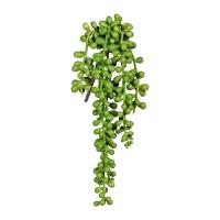 Крестовник (сенецио) искусственный зеленый 35 см