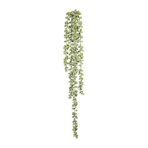 Крестовник (сенецио) искусственный серо-зеленый 70 см