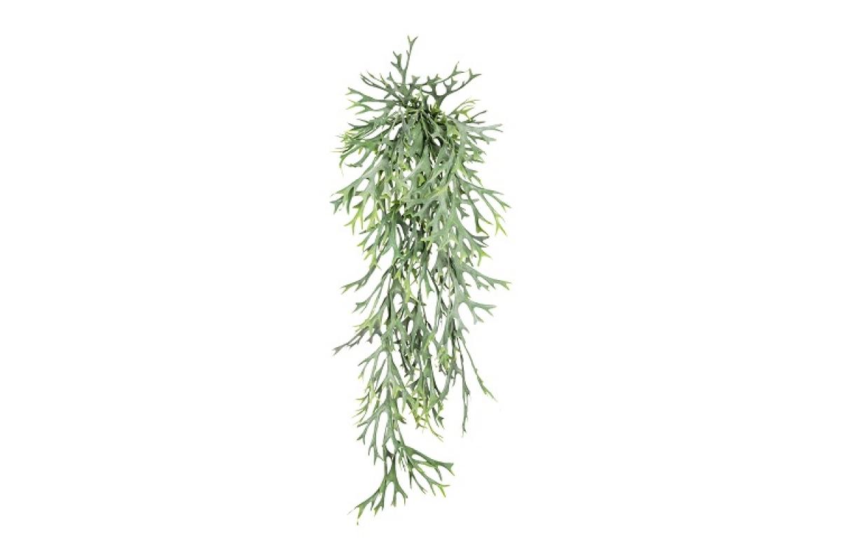 Папоротник Платицериум искусственный зеленый 75 см