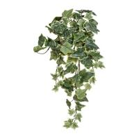 Плющ голландский искусственный зелено-белый 100 см