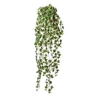 Плющ голландский искусственный зелено-белый 115 см