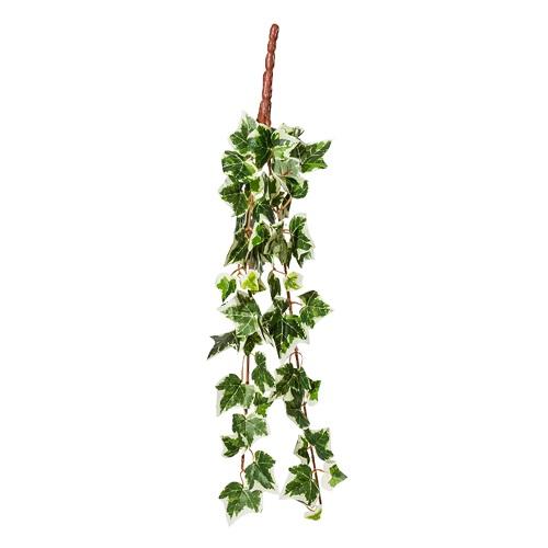 Плющ голландский искусственный зелено-белый 40 см