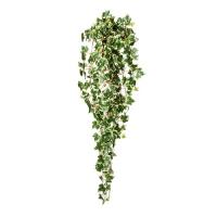Плющ голландский искусственный зелено-белый 90 см