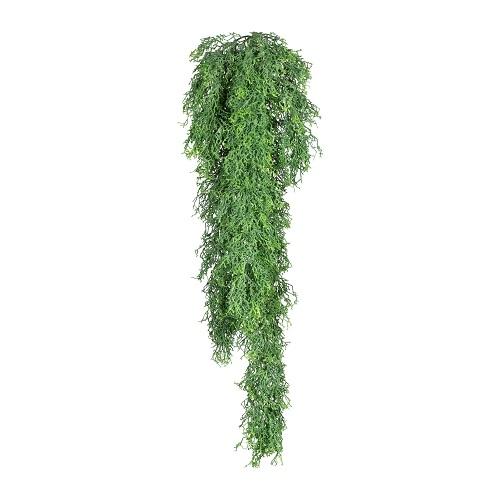 Русселия искусственная зеленая 75 см