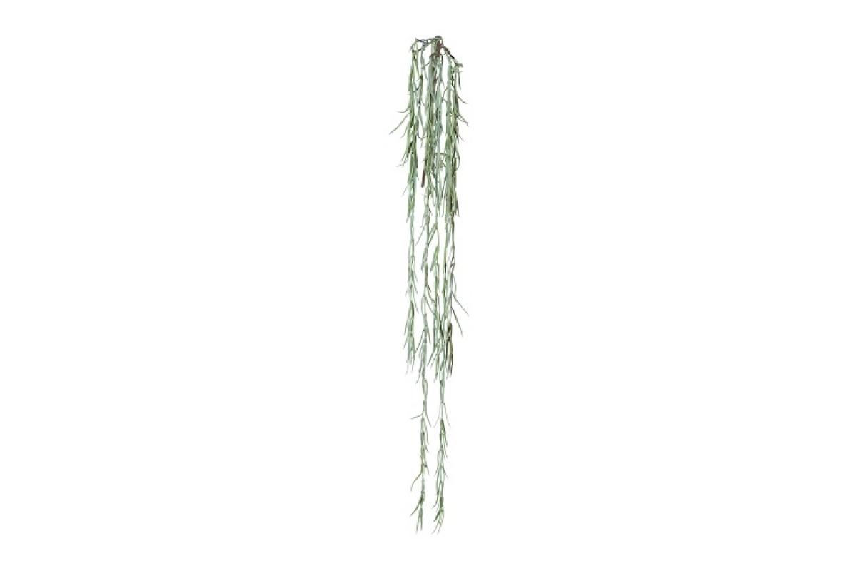 Хойя линеарис искусственная серо-зеленая 109 см