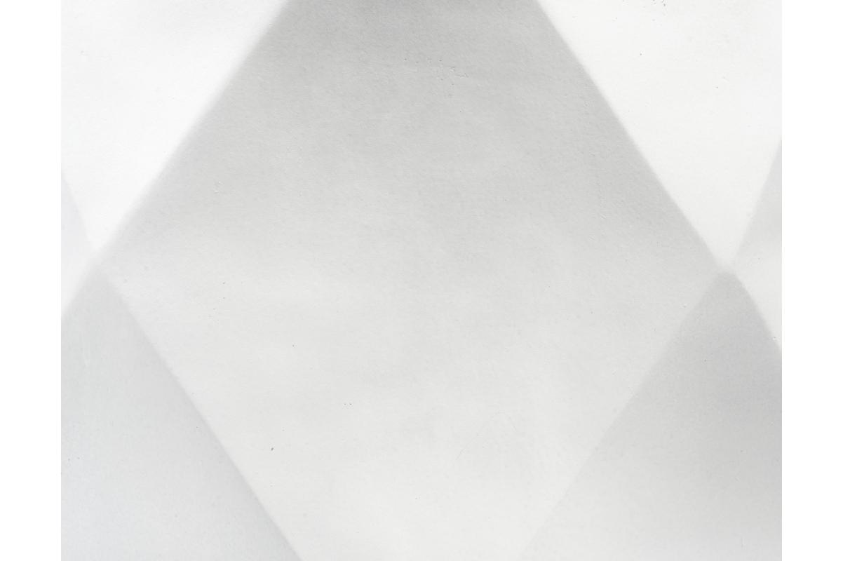 Кашпо TREEZ ERGO Rombo многогранник белый камень от 20 до 44 см - Фото 4