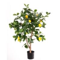 Дерево Лимонное искусственное 85 см