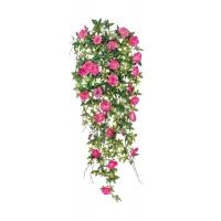 Вьюн искусственный темно-розовый 90 см