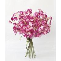 Букет из 25 розовых Латирусов искусственный 50 см