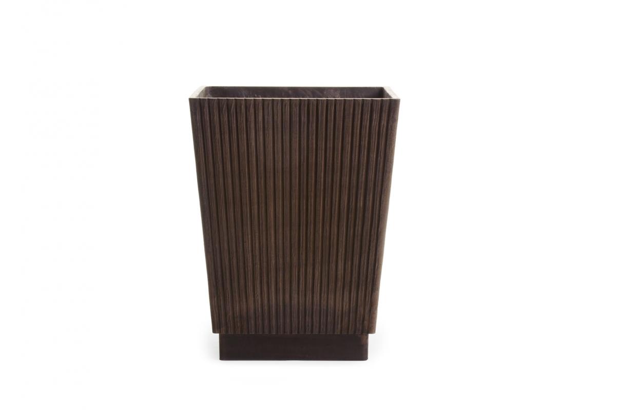 Самшит Шар искусственный Тройной уличный в коричневом кашпо 220 см - Фото 3