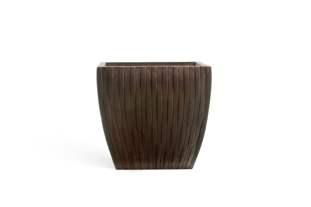 Ива Плакучая искусственная в коричневом кашпо 240 см - Фото 4