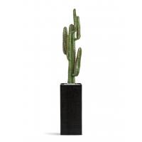 Кактус Цереус Мексиканский искусственный в кашпо антрацит 150 см