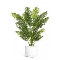 Пальма Арека New Paradise искусственная в белом кашпо 190 см