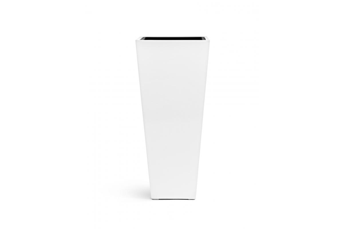 Монстера искусственная в белом кашпо 180 см - Фото 3