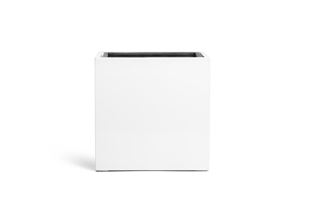 Стрелиция Style искусственная в белом кашпо 210 см - Фото 3
