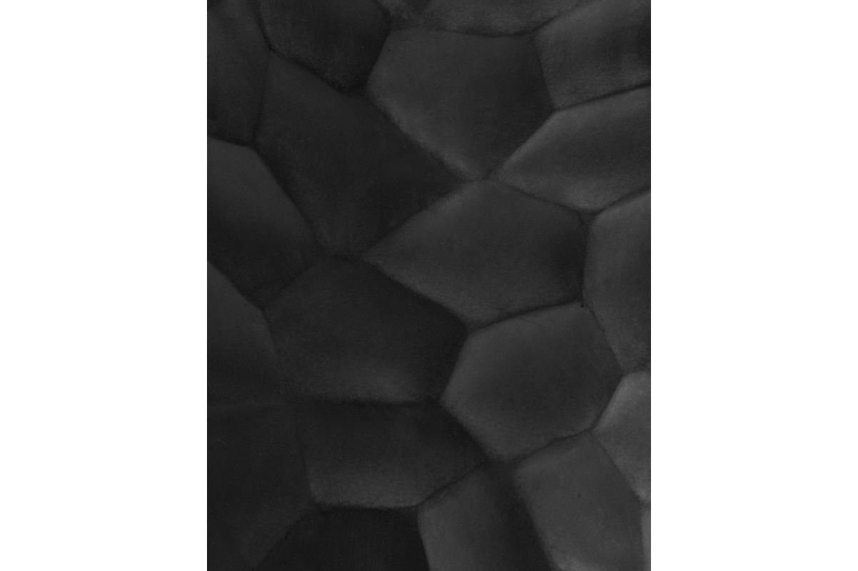 Кашпо Treez Ergo Comb высокий закругленный конус антрацит от 61 до 77 см - Фото 3