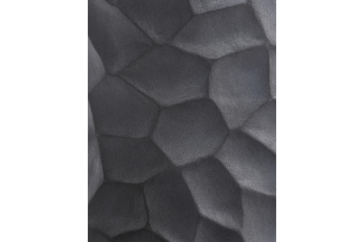 Кашпо Treez Ergo Comb полусфера серое от 24 до 31 см - Фото 4