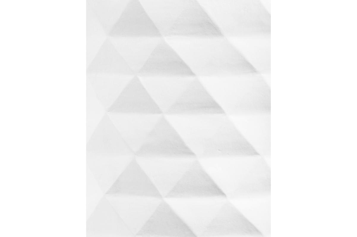 Кашпо Treez Ergo Diamond низкая чаша белая от 16 до 37 см - Фото 2