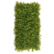Мох Ягель искусственный зелёный микс 25 x 50 см (коврик)
