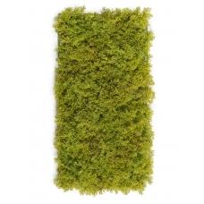 Мох Ягель искусственный светло-зеленый микс 25 x 50 см (коврик)