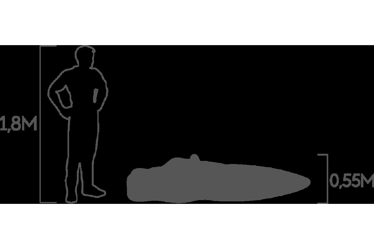 Топиари Бегемот в воде средний - Фото 3