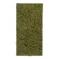 Мох Сфагнум Fuscum искусственный оливково - зеленый 50 x 100 см (полотно среднее)