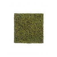 Мох Сфагнум Fuscum искусственный оливково - зеленый 50 x 50 см (полотно)