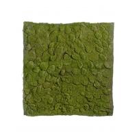 Мох Soft искусственный зеленый 100 x 100 см (полотно большое)
