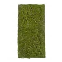 Мох Soft искусственный зеленый 50 x 100 см (полотно среднее)