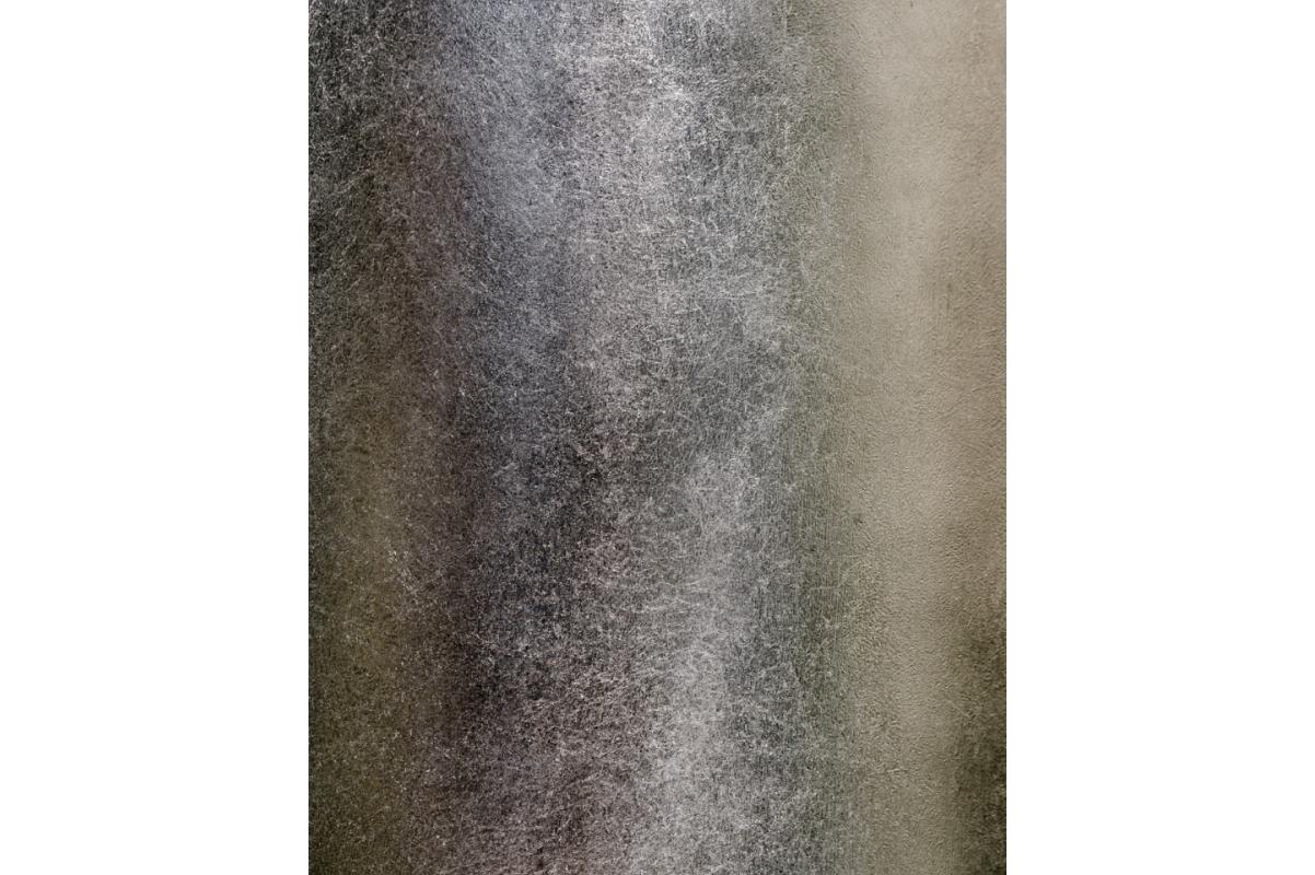 Кашпо Treez Effectory Metal высокий округлый конус стальное серебро от 72 до 95 см - Фото 4