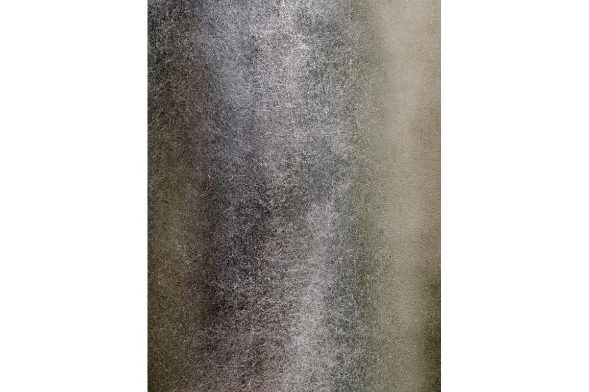 Кашпо Treez Effectory Metall высокий конус стальное серебро от 55 до 67 см - Фото 2