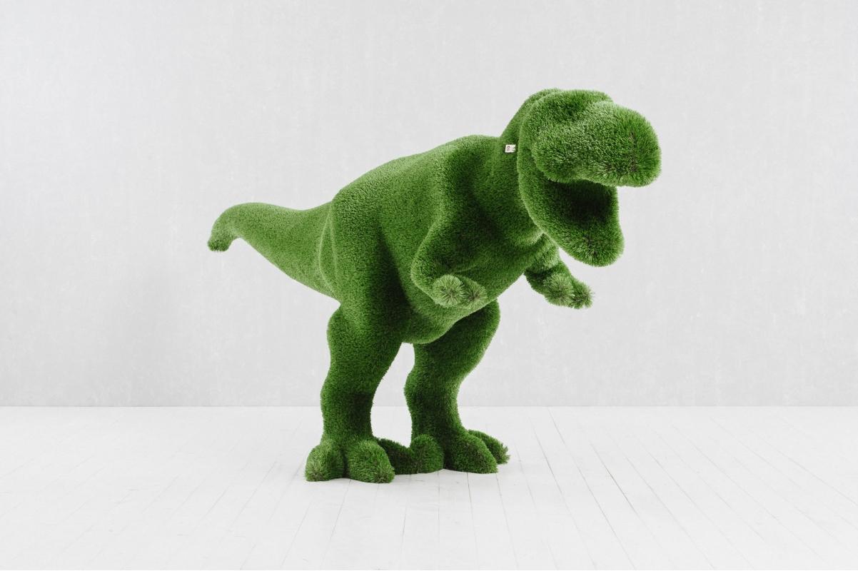 Топиари Тираннозавр - Фото 2