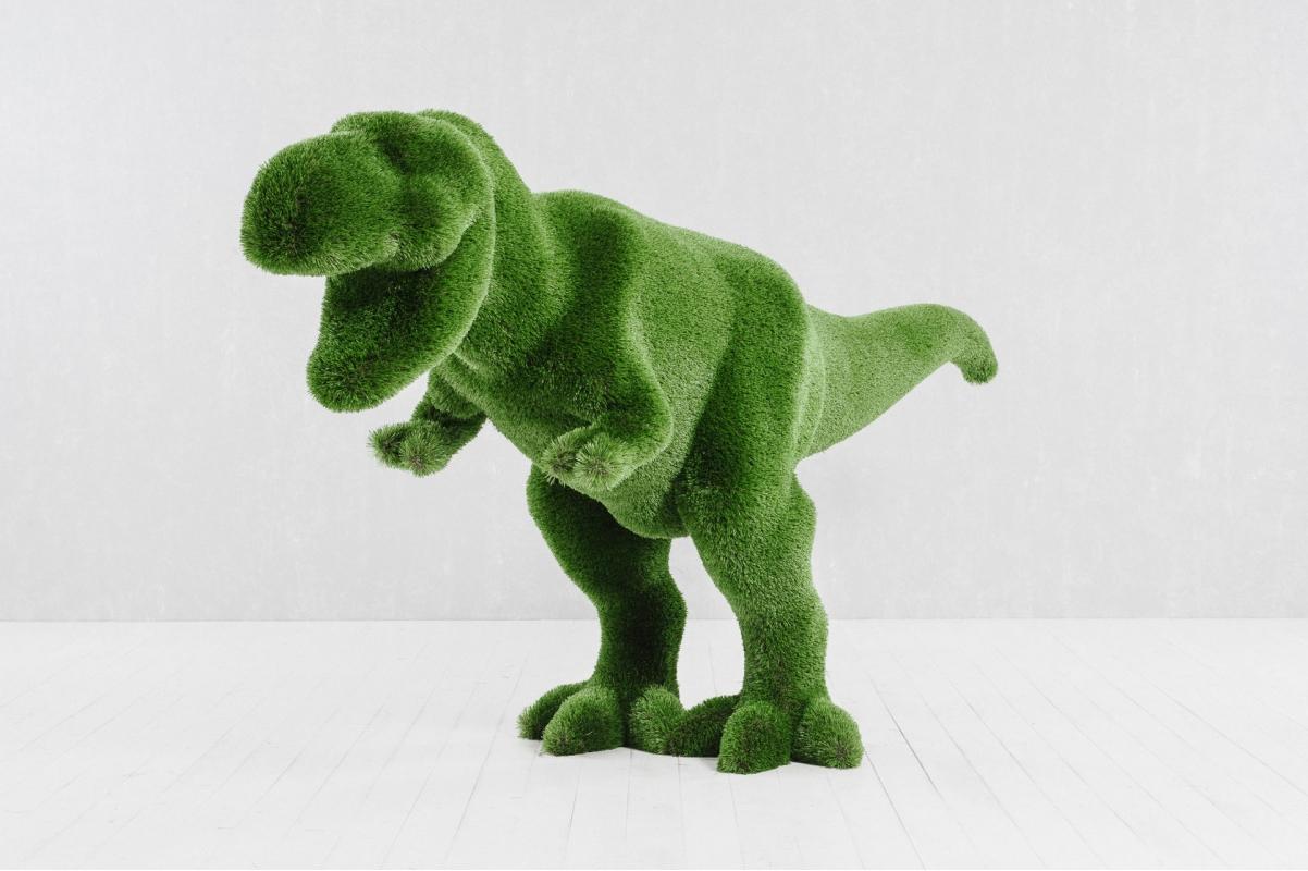 Топиари Тираннозавр - Фото 6