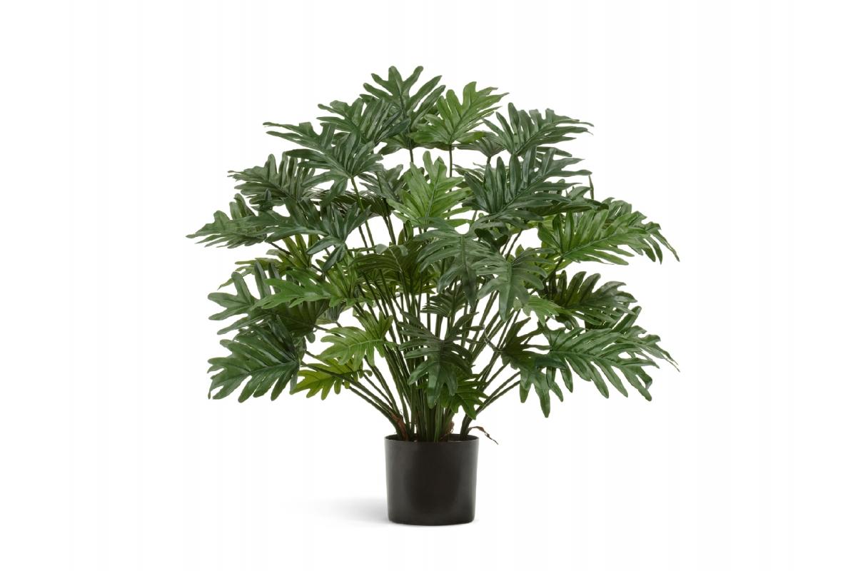 Филодендрон Ксанаду куст искусственный зеленый 75 см
