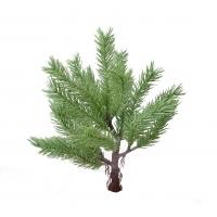 Карликовая Канадская елочка искусственная темно-зеленая 30 см