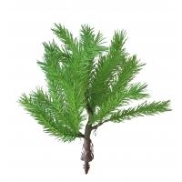 Карликовая Канадская елочка искусственная зеленая 30 см