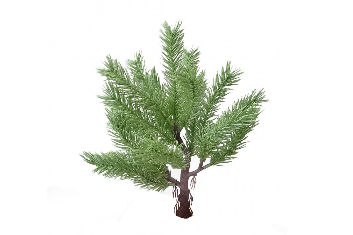 Карликовая Канадская елочка искусственная светло-зеленая 30 см